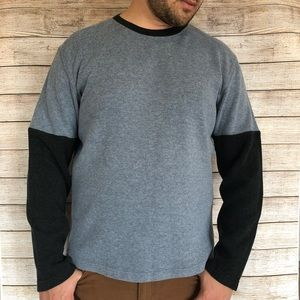 Banana Republic Two Tone Sweater
